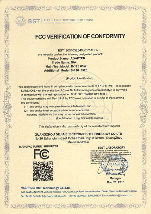 FCC126-65W-5525