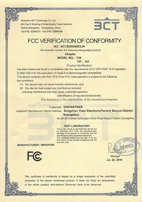 FCC126-127-141