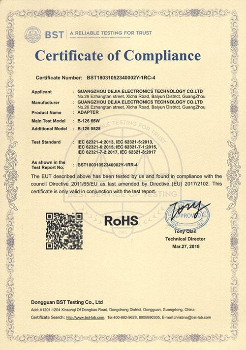 ROHS126-65W-5525